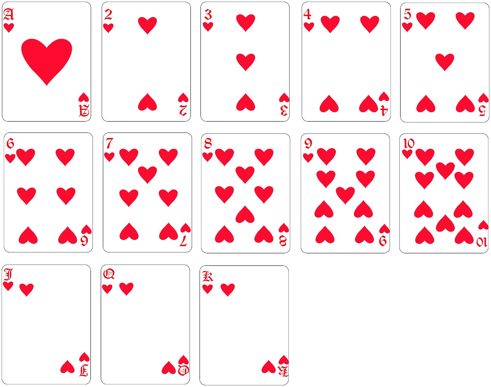 copas cartas
