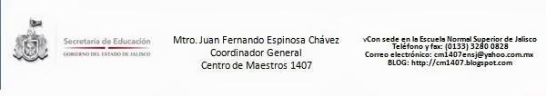 CENTRO DE MAESTROS 1407