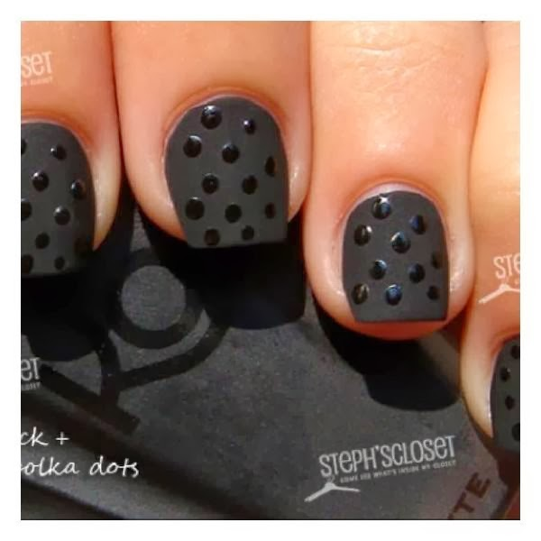 Black Nails Are Popular Recently After Several Famous Celebrities From Hollywood Use Them This Color Looks Good For Funky Style