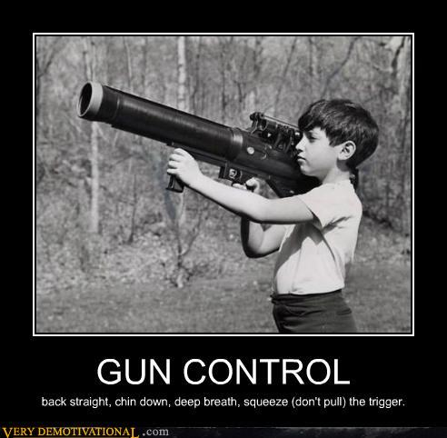 Funny Gun Control Signs Gun control: bits and pieces