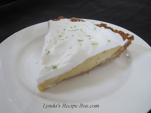 """Key"" Lime Pie- Tangy and Delicious!"