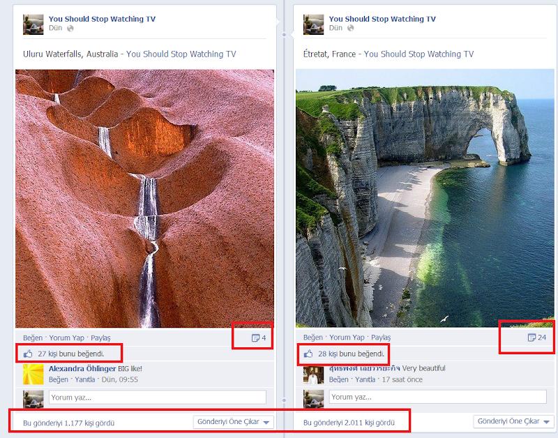 Facebook EdgeRank Yükseltme Yöntemleri