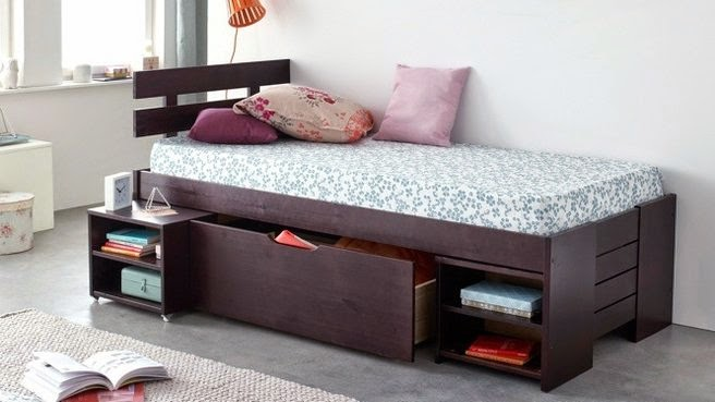 Platform bed with storage for small bedrooms : top 10 in 2016