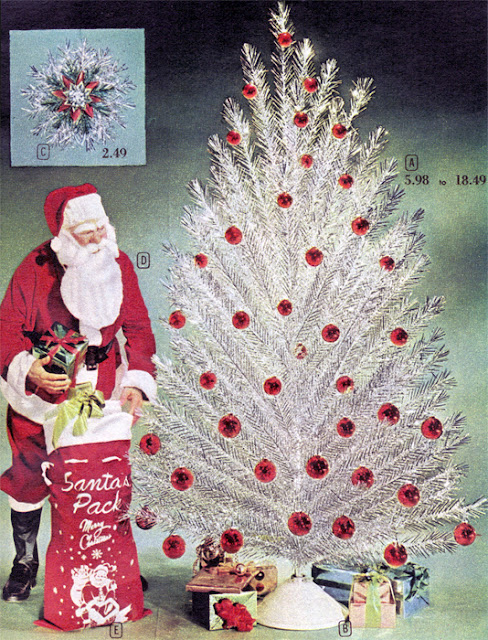 the aluminum tree ornament museum atom the worlds only museum dedicated to vintage aluminum christmas trees reopened for this holiday season - Vintage Silver Christmas Tree
