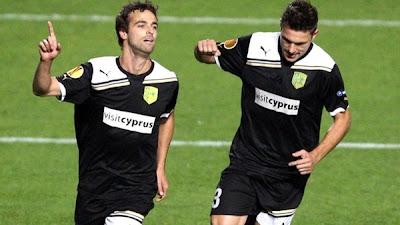 AEK Larnaca 2 - 1 Maccabi Haifa (2)