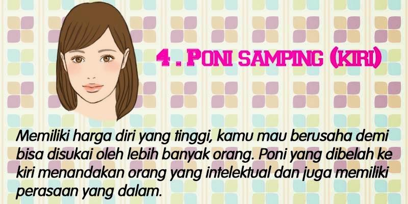 4. Poni Samping Kiri