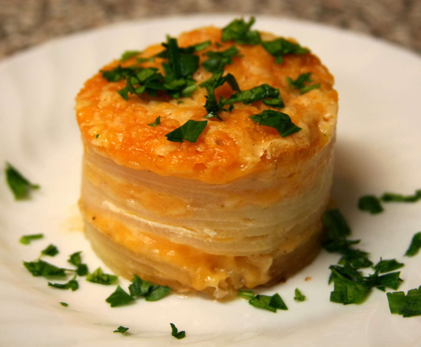 ... Confused: Bon Appétit: Scalloped Potatoes with Three Cheeses