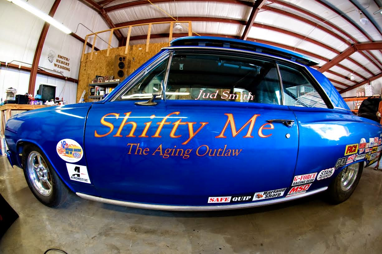 Jud Smith Writes: Drag Car for Sale.....Really!
