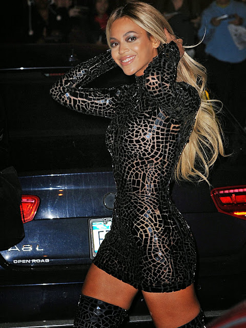 Beyonce looking like a hooker at the quot beyonce quot album party in new york