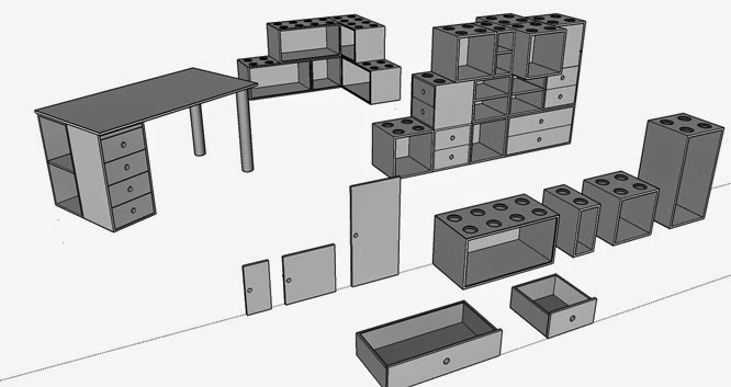 easybloX Modulare Möbel