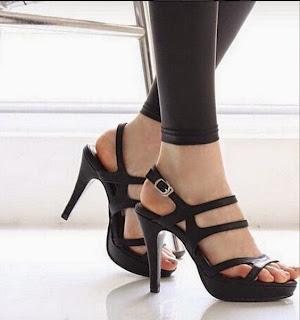Wedges Heels Sandal Sepatu Murah