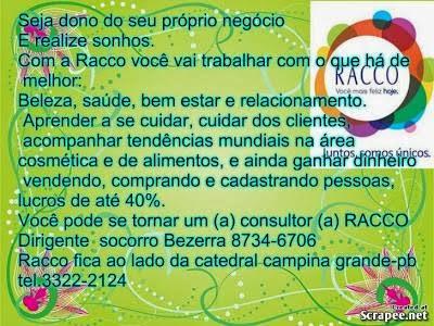 Seja um Consultor(a) RACCO