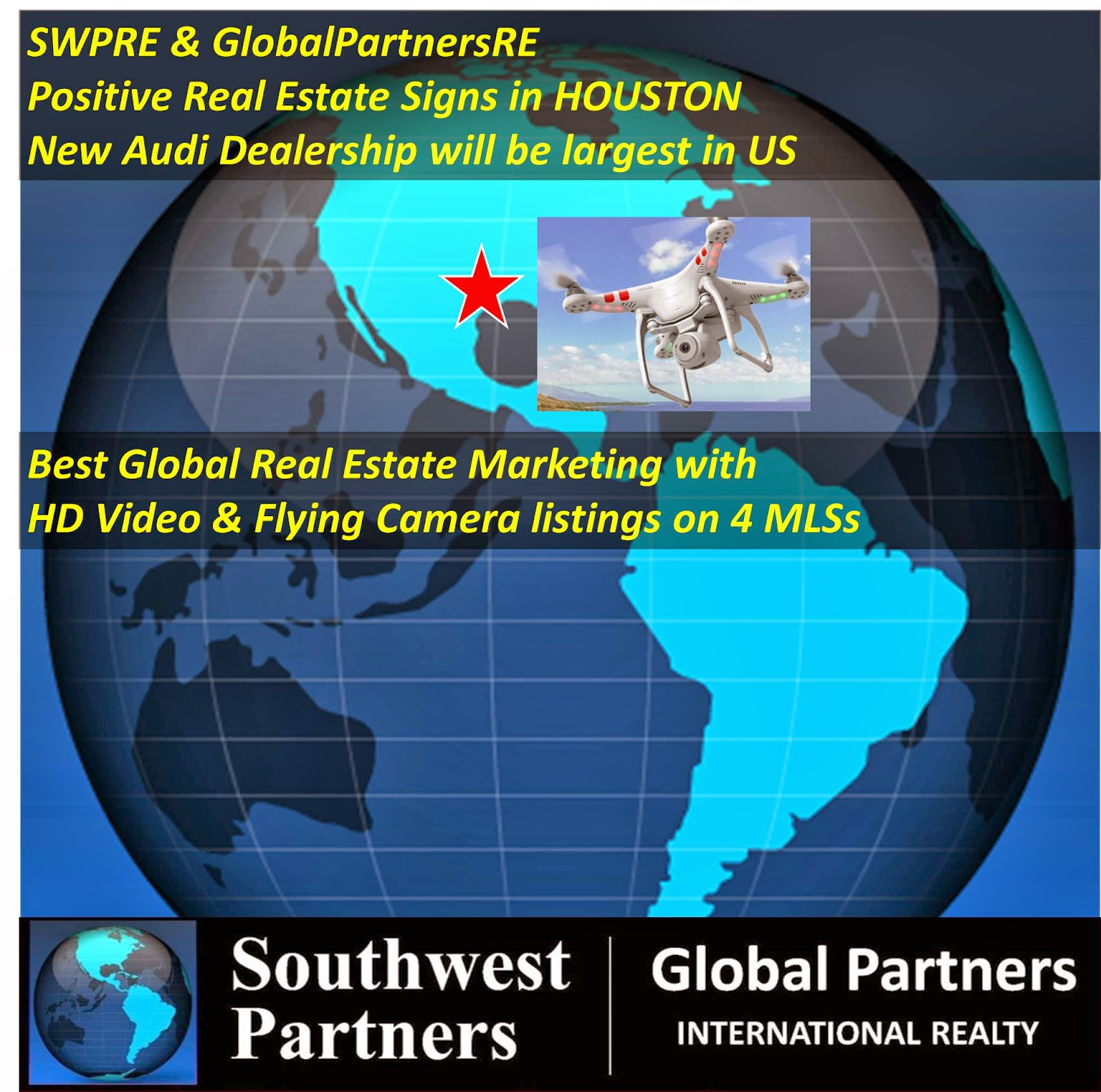 SWPRE And GlobalPartners RE Positive Real Estate Signs In