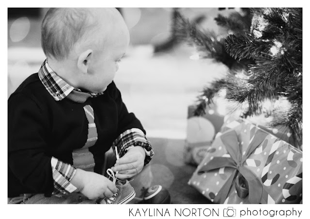 Christmas Lifestyle Baby Photos