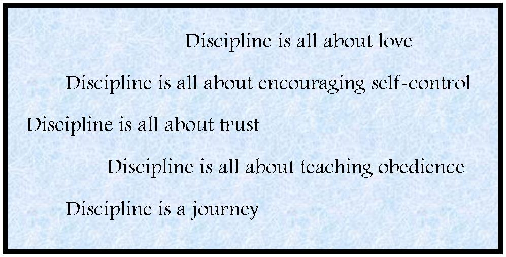 need of discipline in life essay Free sample essay on the importance of discipline in life discipline is the most  fundamental of all qualities that shape a student discipline means self-control,.
