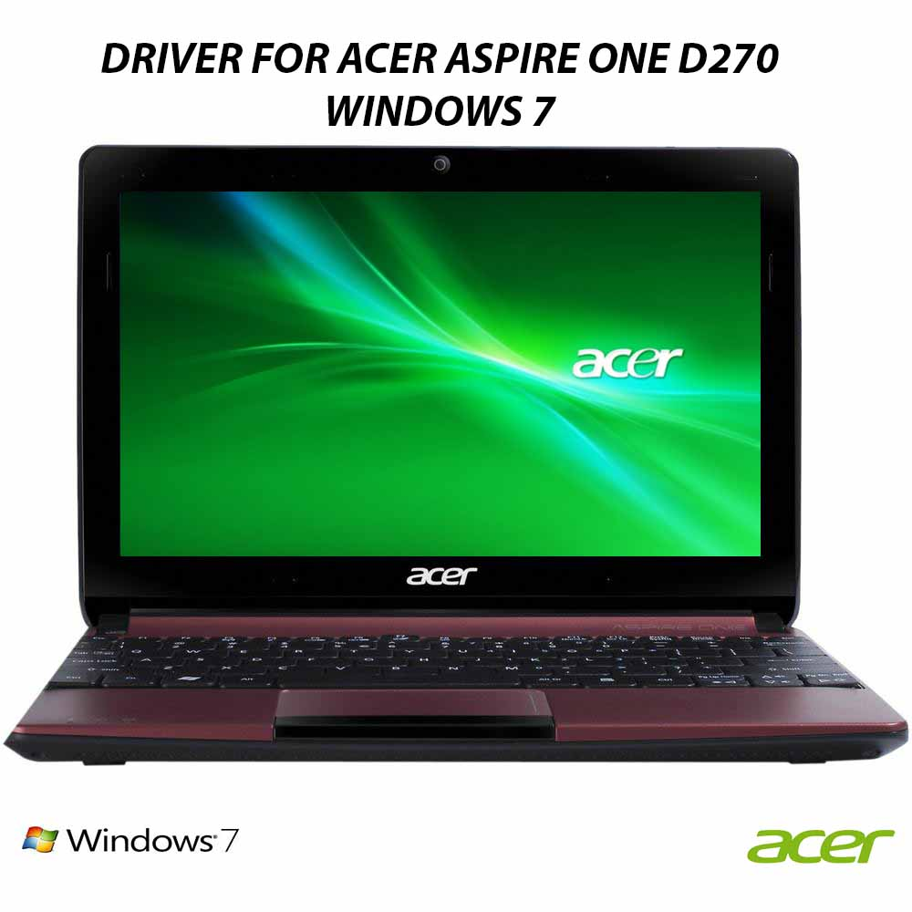 download driver acer aspire one d270 windows 7 32bit