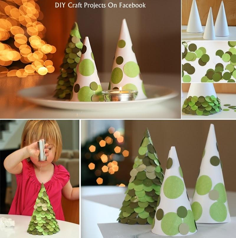 Christmas Tree Ideas Diy : Diy christmas trees ideas craft projects