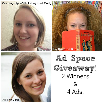 Ad Space #giveaway on THREE blogs!