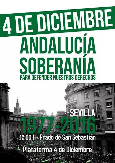 MANIFESTACIÓN 4D  EN SEVILLA