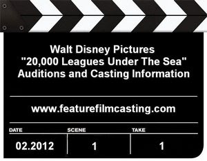 Disney's 20000 Leagues Under The Sea Auditions