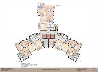 Jaypee Greens Garden Isles Floor Plan