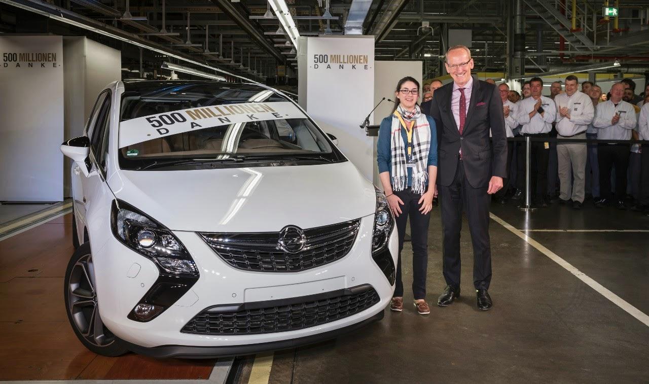 Ξεχωριστή επέτειος: Opel και GM Στέλνουν 500 Εκατομμύρια 'Ευχαριστώ'