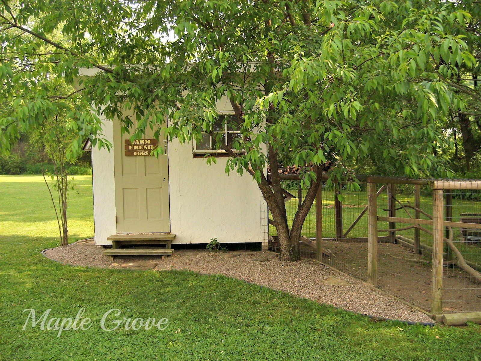 vintage hen house design