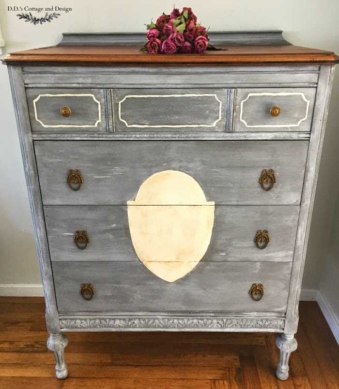 D D 39 S Cottage And Design Grey Antique Dresser And How To
