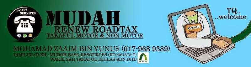 Mudah Renew Roadtax