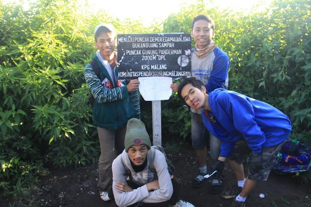 wisata gunung panderman batu jawa timur