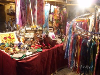 Silkyway stand a Vörösmarty téri Karácsonyi vásáron