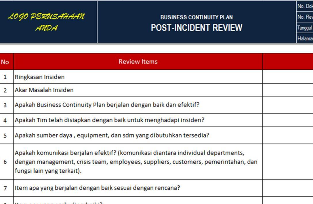 pt  sistem manajemen utama  paket dokumen iso 27001 2013