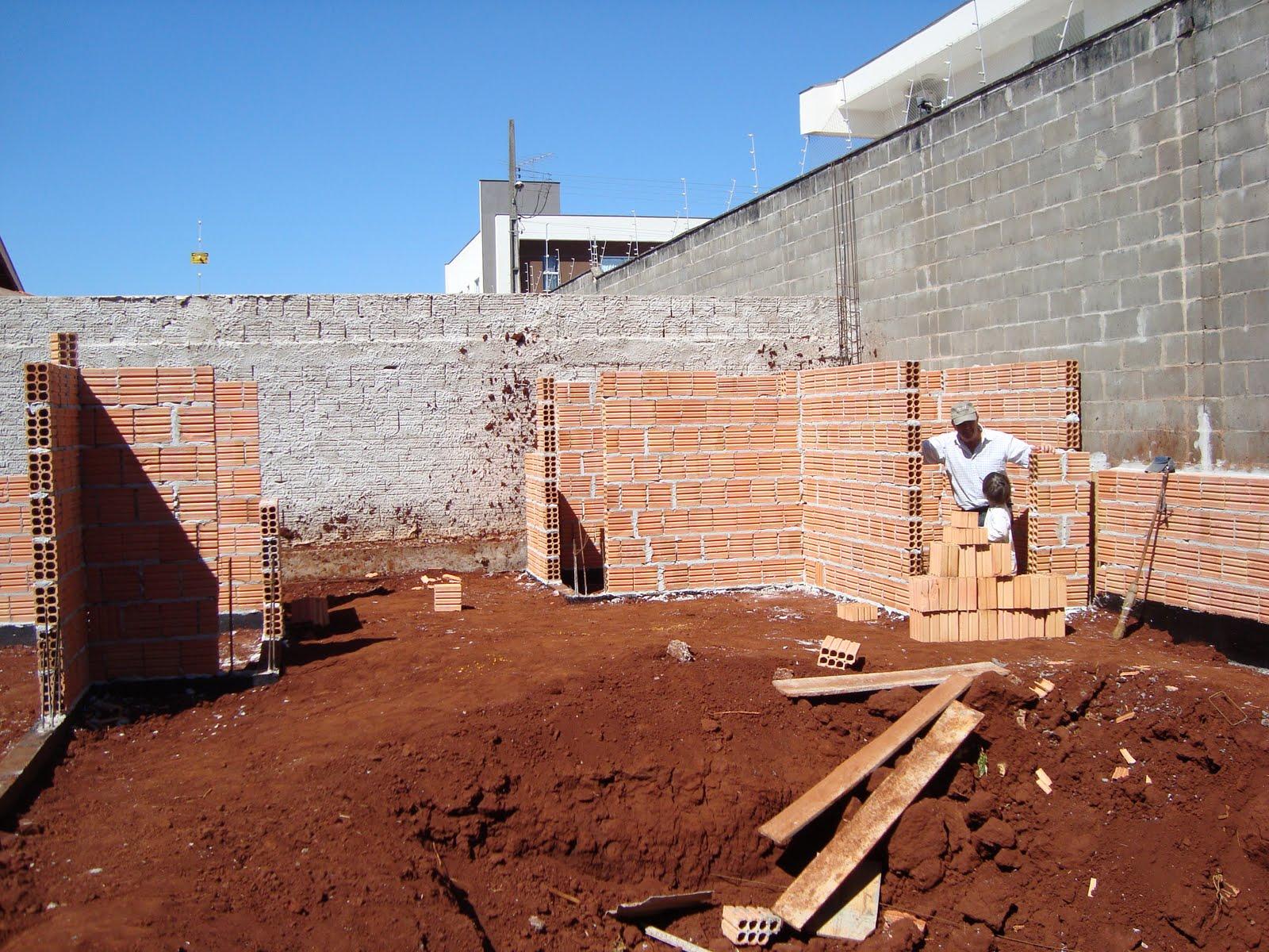 Construindo Nosso Lar Paredes Subindo