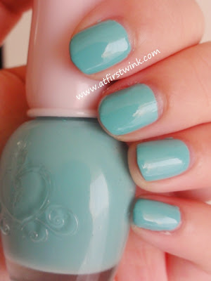 Etude House nail polish DGR701 Tint Mint