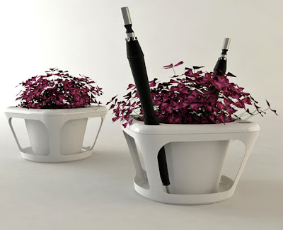 Cool Built-in Planters and Flowerpots (15) 12