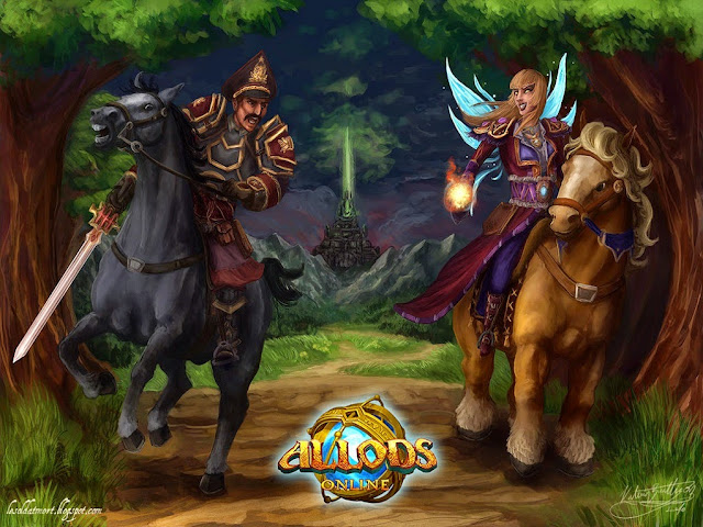 17878-Horse Rider Allods Online Game HD Wallpaperz