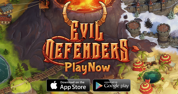 Evil Defenders MOD APK+DATA (Unlimited Souls)