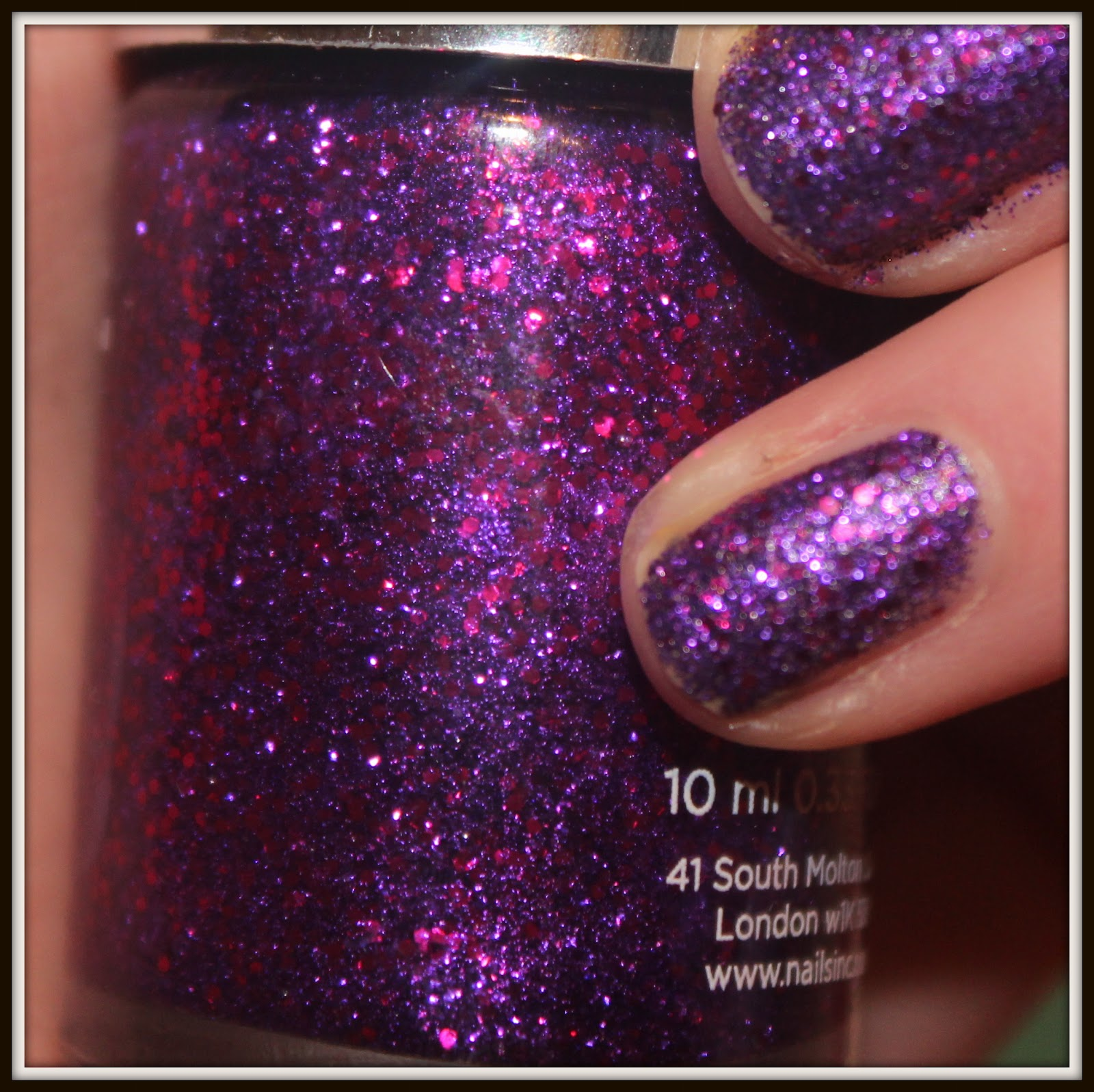 Nails Inc Special Effects \'Bloomsbury Square\'- 3D Glitter Nail ...