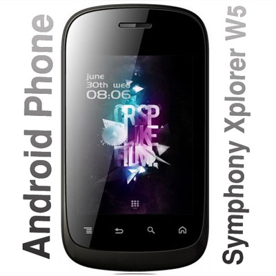 Android Phone, Cheapest Android Phone, Symphony Android Phone, Android Phone in Bangladesh