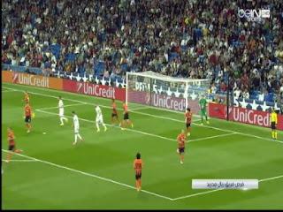 اهداف مبارة ريال مدريد 4-0 شاختاردونيتسك دورى ابطال اوربا