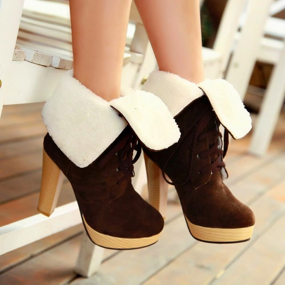 Shoes: Sexy High Quality Suede Ankle Boots Women Shoes Winter