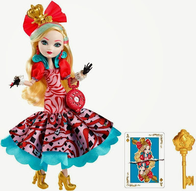 JUGUETES - Ever After High : Way Too Wonderland  Apple White | Muñeca - Doll Toys | Producto Oficial 2015 | Mattel | A partir de 6 años