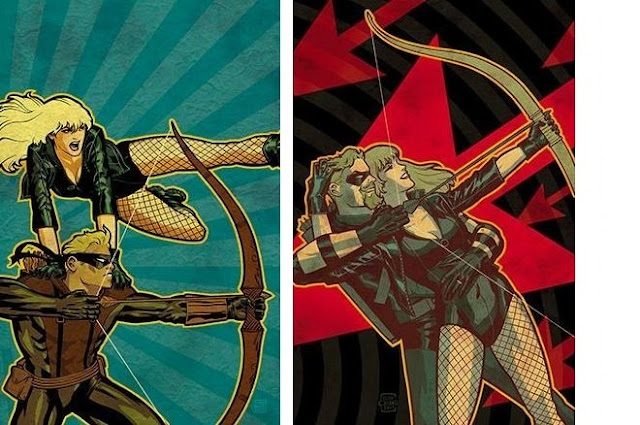 Green Arrow and Black Canary #1 - 365 Days of Comics
