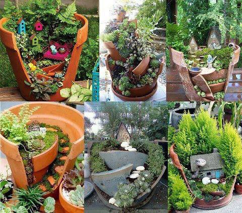 How To Recycle Creative Recycling Ideas For Backyard Decorating - Backyard decorating ideas