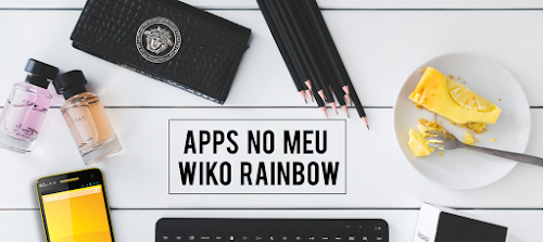 Apps no meu Wiko Rainbow