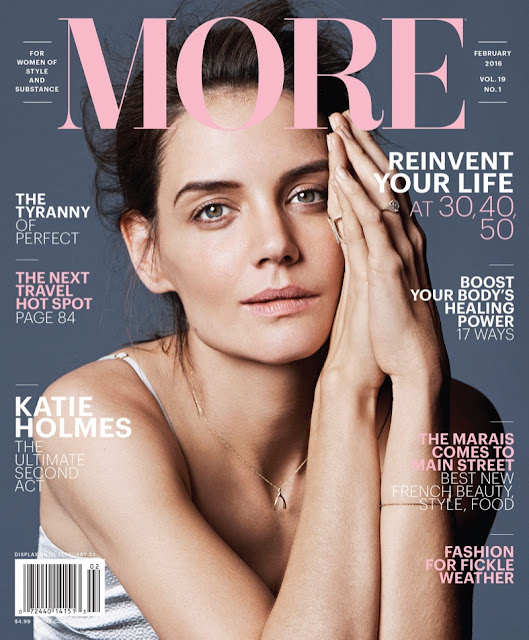 Actress, Model, @ Katie Holmes - More Magazine, February 2016