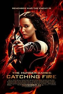 THE HUNGER GAMES: CATCHING FIRE Official Movie Poster