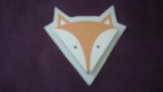 marque page renard