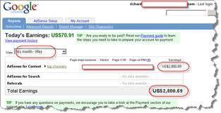 Cara Mendapatkan Uang Dari Google Adsense