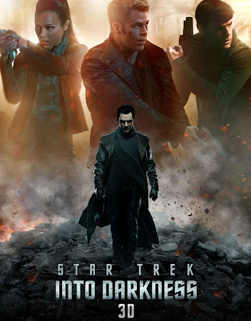 Poster Of Star Trek: Into Darkness 2013 In Hindi Bluray 720P Free Download